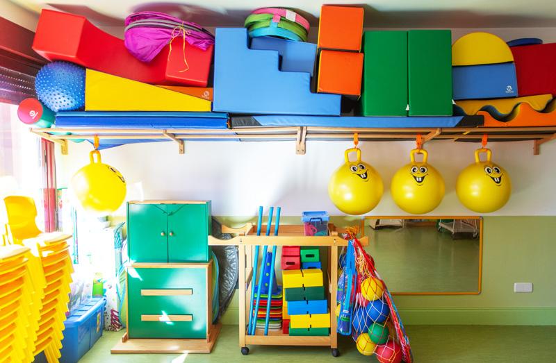 instalaciones juegos bebés