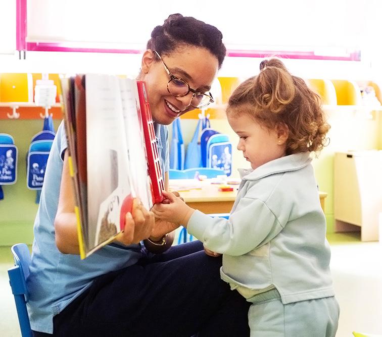 profesora con alumna